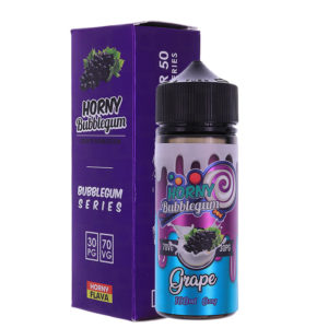 Vīnoga Bubblegum 100ml Eliquid Shortfills By Horny Bubblegum Sērija