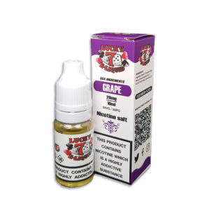 Grape Nicotine Salt Eliquid By Lucky 7 Eliquid Salts