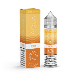 Hydra 50ml Eliquid Shortfills De Aqua Tobacco série