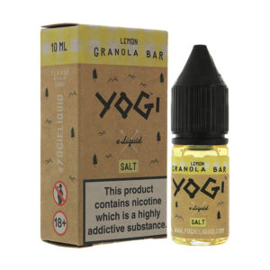 Lemon Granola Bar 10ml Nicotine Salt Eliquid By Yogi Salt 1