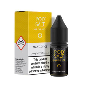 Mango Ice 10ml Nicotine Salt Eliquids By Pod Salt Core Collection
