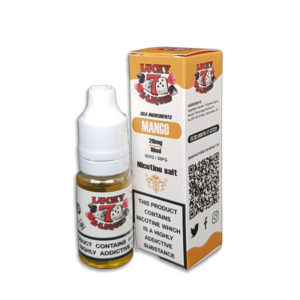 Mango Nicotine Salt Eliquid By Lucky 7 Eliquid Salts