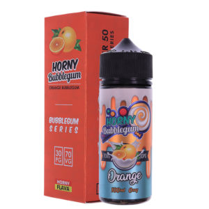 Πορτοκαλί Bubblegum 100ml Eliquid Shortfills By Horny Bubblegum Σειρές