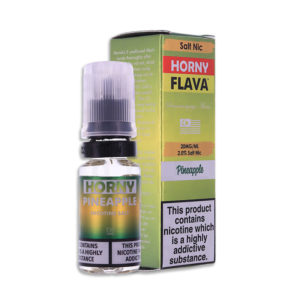Pineapple 10ml Nicotine Salt Eliquid By Horny Flava Salts