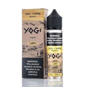 Ananāsu 50ml E šķidrums Shortfills By Yogi Farms Diapazons