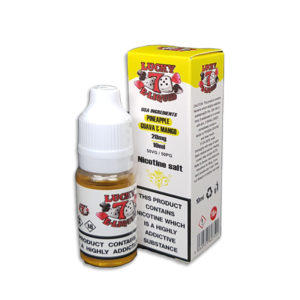 Pineapple Guava Mango Nicotine Salt Eliquid By Lucky 7 Eliquid Salts