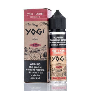 Pomegranate 50ml E Liquid Shortfills By Yogi Farms Range
