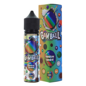 ουράνιο τόξο Gumball 50ml Eliquid Shortfills By Gumball E Υγρά