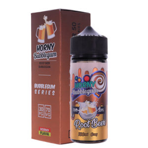 Root Beer Bubblegum 100ml Eliquid Shortfills By Horny Bubblegum Series