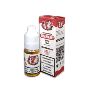 Strawberry Nicotine Salt Eliquid By Lucky 7 Eliquid Salts