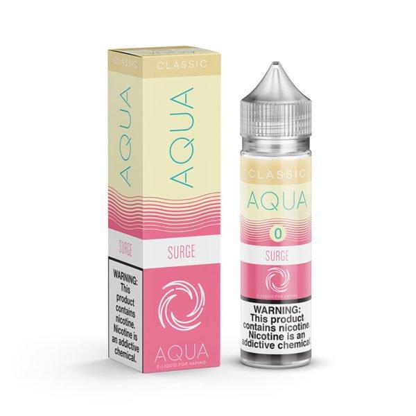 Surge 50ml Eliquid Shortfills By Aqua Classic Range
