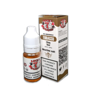 Tobacco Nicotine Salt Eliquid By Lucky 7 Eliquid Salts