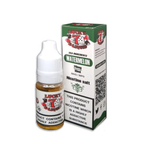 Watermelon Nicotine Salt Eliquid By Lucky 7 Eliquid Salts