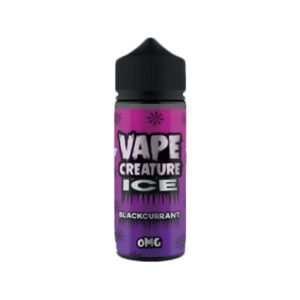 Zwarte bes 100ml eliquid Shortfills By Vape Creature Ice