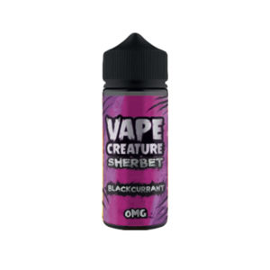Blackcurrant 100ml Eliquid Shortfills By Vape Creature Sherbet