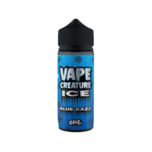 Blue Razz 100ml Eliquid Shortfills By Vape Creature Ice