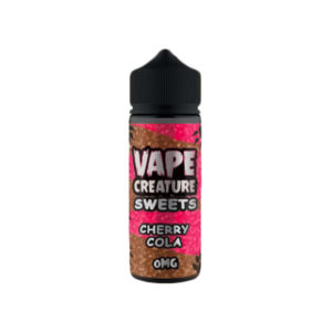 Cherry Cola 100ml Eliquid Shortfills By Vape Creature Sweets Series