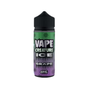 Grape 100ml Eliquid Shortfills par Vape Creature Ice