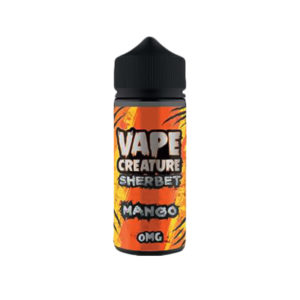 Mango 100ml Eliquid Shortfills By Vape Creature Raspberry