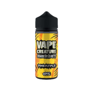 Pineapple 100ml Eliquid Shortfills By Vape Creature Sherbet