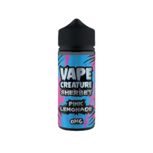 Pink Lemonade 100ml Eliquid Shortfills By Vape Creature Sherbet