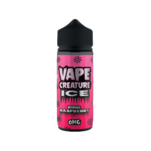 Pink Raspberry 100ml Eliquid Shortfills By Vape Creature Ice