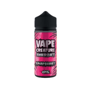 Raspberry 100ml Eliquid Shortfills By Vape Creature Sherbet