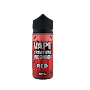 Red Handsomberg 100ml E Liquid Shortfills By Vape Creature