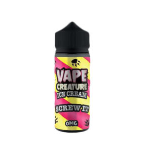 Screw It Ice Cream 100ml E Liquid Shortfills By Vape Creature