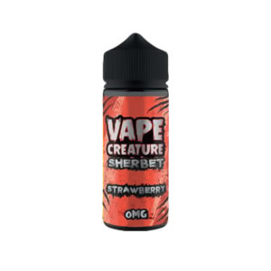 Strawberry 100ml Eliquid Shortfills De Vape Creature Framboise
