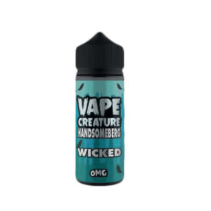 Wicked Handsomberg 100ml E Liquid Shortfills par Vape Creature