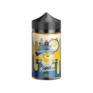Banana 50ml Eliquid Shortfills By Horny Flava Bubblegum