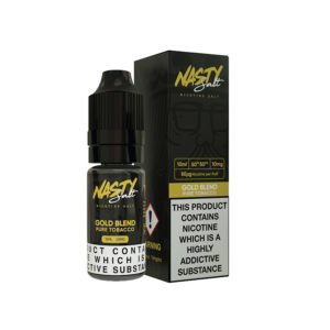 Gold Blend Nic Salt Eliquid By Nasty Salt Nasty Juice