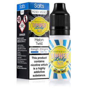 Melon Twist 10ml Nicotine Salt Eliquid By Dinner Lady Zouten