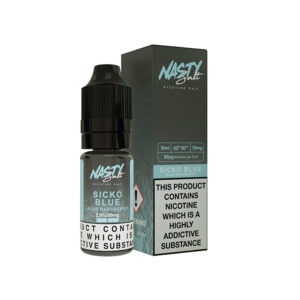 Sicko Blue Nic Salt Eliquid By Nasty Sal Nasty Juice