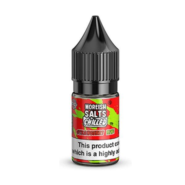Strawberry Kiwi chilled Nicotine Salt Eliquids By Moreish Salts
