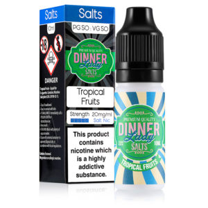 Frutas tropicales 10ml Nicotine Salt Eliquid By Dinner Lady Sales