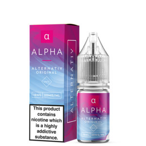 Alternativ Alpha 10ml nikotīna sāls šķidruma pudele