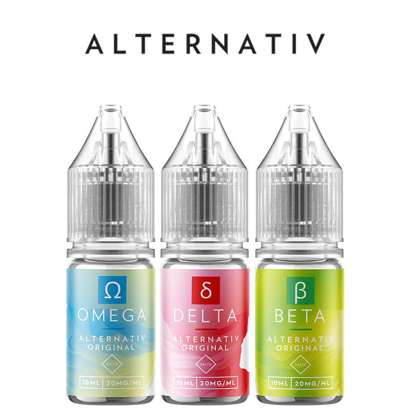 Alternativ Nicotine Salt E-Liquids