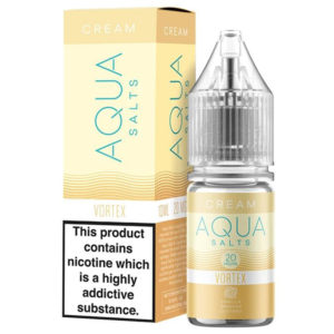 Aqua Cream Vortex 10ml Nicotine Salt Eliquid By Marina Vape