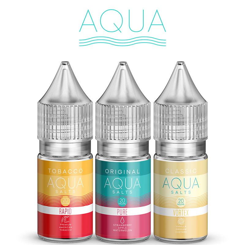 Aqua E-liquides Nic Salt
