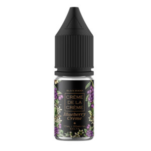 Creme De La Creme Blueberry Creme 10ml Nicotine Salt Eliquid Bottle