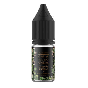 Creme De La Creme Classic Creme 10ml Nicotine Salt Eliquid Bottle