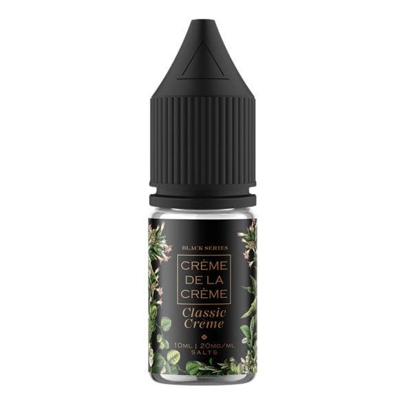 Creme De La Creme Classic Creme 10ml Nicotine Salt Eliquid Bottle
