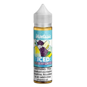 Limonada de Blackberry Gelada 50ml Eliquid Shortfills By Vapetasia