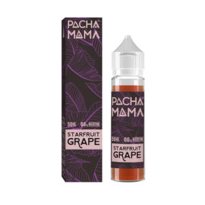 Starfruit Grape 50ml Eliquid Shortfill Bottle By Pacha Mama Ccd