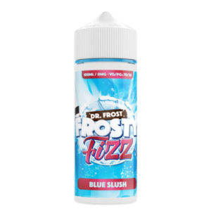 Blauw Slush 100ml Eliquid Shortfill Fles door Dr Frost Frosty Fizz