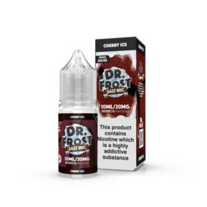 Ķiršu ledus nikotīna sāls nelikvīdu pudele ar kastīti Dr Frost