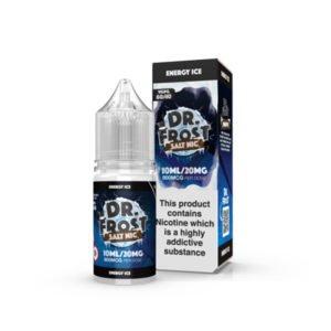 Enerģētiskā ledus nikotīna sāls nelikvīdu pudele ar kastīti Dr Frost