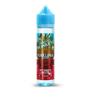 Hakuna ísaður 50ml Eliquid Shortfill Flaska By Twelve Monkeys Íssaga 1